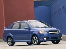 Chevrolet Aveo рестайлинг 2005, седан, 1 поколение, T250