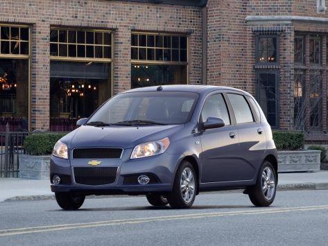Chevrolet Aveo (T250) 09.2007 - 07.2011