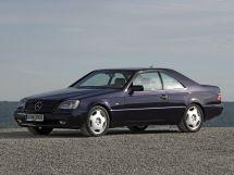 Mercedes-Benz CL-Class 1992, купе, 1 поколение, C140