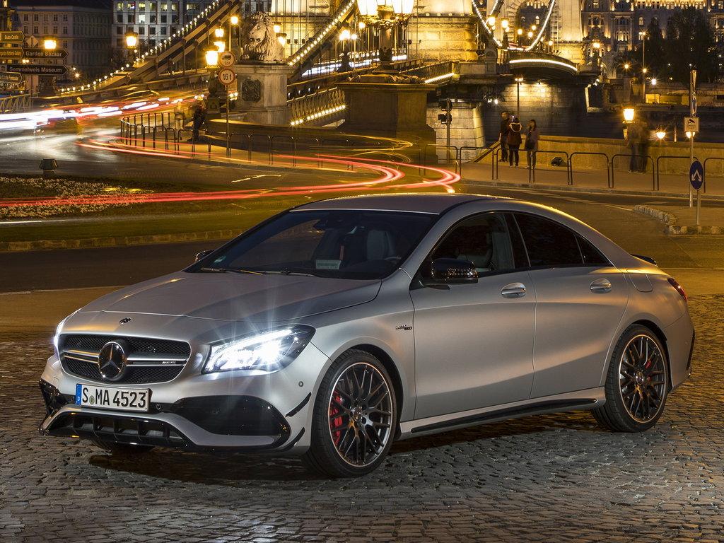 Четырехдверное купе Mercedes-Benz CLA может дебютировать в Детройте 16