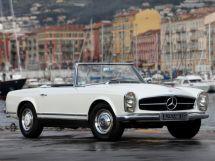 Mercedes-Benz SL-Class 1963, открытый кузов, 2 поколение, W113