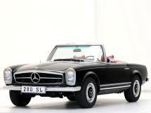 Mercedes-Benz SL-Class рестайлинг 1967, открытый кузов, 2 поколение, W113