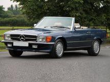 Mercedes-Benz SL-Class рестайлинг 1985, открытый кузов, 3 поколение, R107