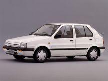 Nissan March 2-й рестайлинг 1989, хэтчбек 5 дв., 1 поколение, K10