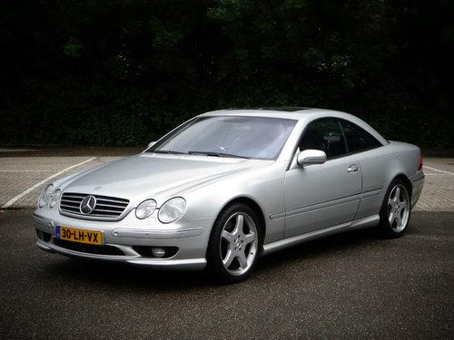 Mercedes-Benz CL-Class 1999 - 2002