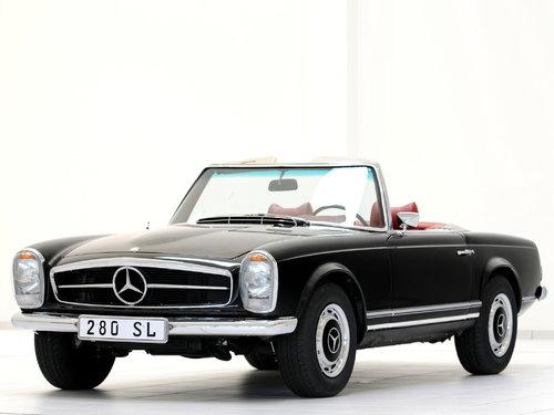 Mercedes-Benz SL-Class 1967 - 1971