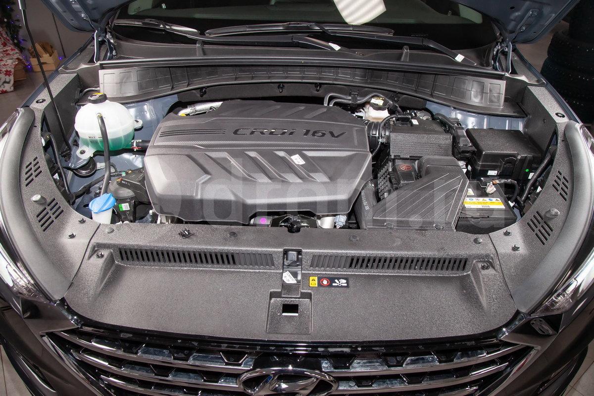 Двигатель D4HA технические характеристики  Hyundai D4HA
