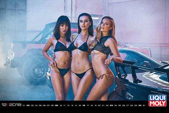 Так выглядели календари Pirelli на заре своего существования, но сейчас они стали арт-объектом с налетом легкого эротизма. Однако идея не канула в лету, и разные компании, связанные с автомиром, выпускают свои творения для настоящих мужчин.