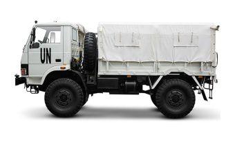 Индийские грузовики уже проходят испытания на Украине.