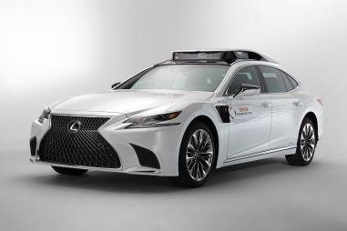Новый прототип с автопилотом Toyota построила на базе Lexus LS 500h
