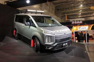 Mitsubishi привезла на автосалон в Токио экспедиционную Делику