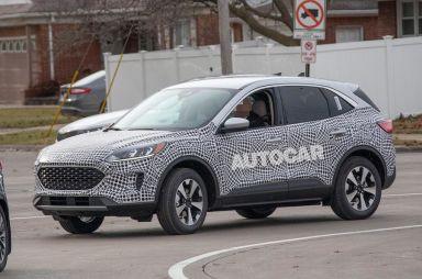 Ford Kuga третьего поколения активно теряет камуфляж