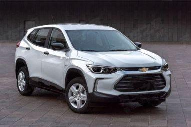 Фото Chevrolet Tracker нового поколения попали в свободный доступ