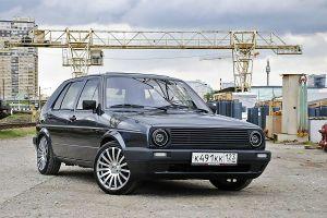 Народное ретро. Volkswagen Golf Mk2 (Typ19) 1987года. Очарование простоты