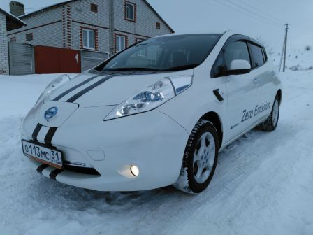 Nissan Leaf 2013 - отзыв владельца