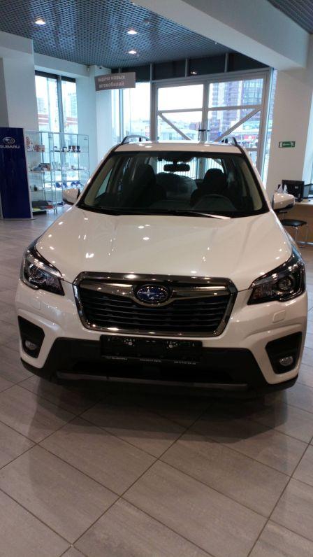 Subaru Forester 2018 - отзыв владельца