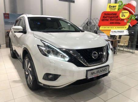 Nissan Murano 2018 - отзыв владельца