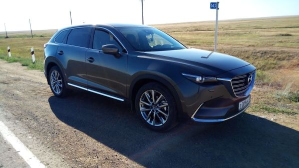 Mazda CX-9 2018 - отзыв владельца