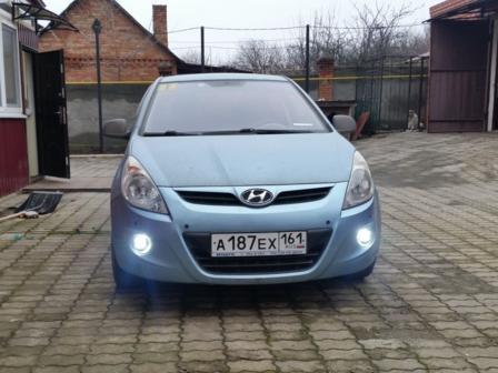 Hyundai i20  - отзыв владельца