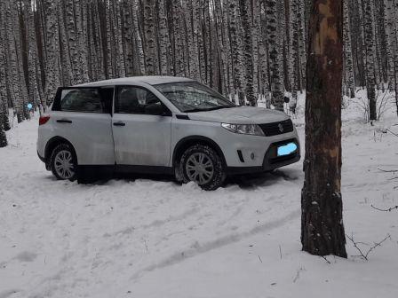 Suzuki Vitara 2017 - отзыв владельца