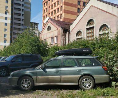 Subaru Outback 2002 отзыв автора | Дата публикации 13.01.2019.