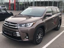 Отзыв о Toyota Highlander, 2018 отзыв владельца