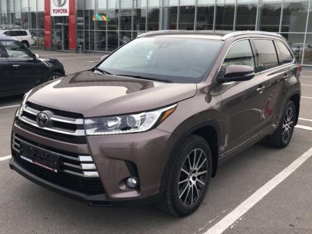 Toyota Highlander 2018 - отзыв владельца