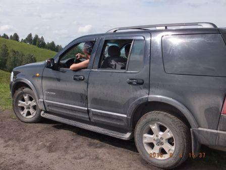 Ford Explorer  - отзыв владельца