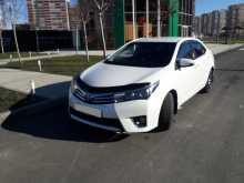 Краснодар Corolla 2014