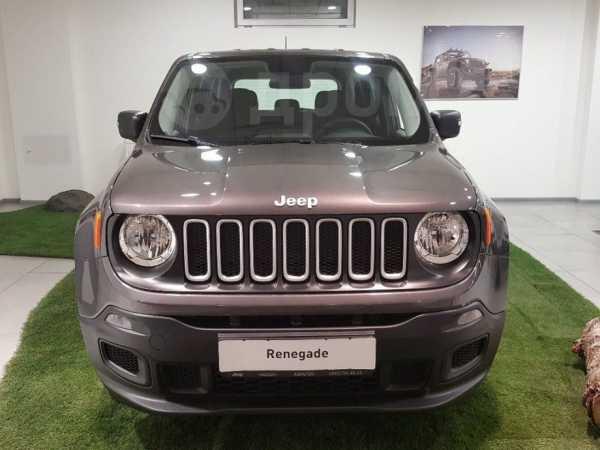 Jeep Renegade, 2018 год, 1 485 000 руб.