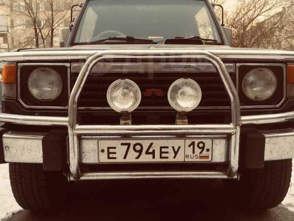 Mitsubishi Pajero, 1989 год, 300 000 руб.