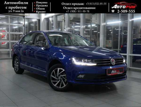 Volkswagen Jetta, 2017 год, 927 000 руб.