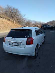 Владивосток Corolla Runx 2003