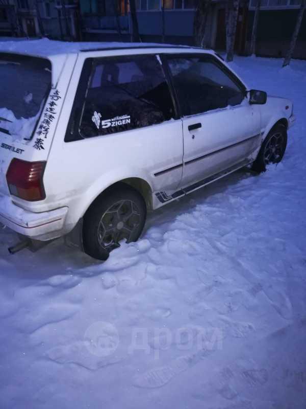 Toyota Starlet, 1986 год, 60 000 руб.