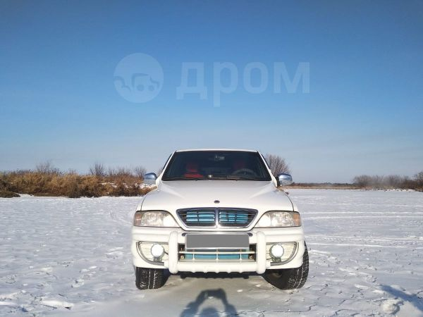 SsangYong Musso Sports, 2006 год, 450 000 руб.