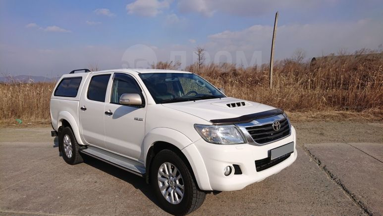 Toyota Hilux Pick Up, 2012 год, 1 390 000 руб.