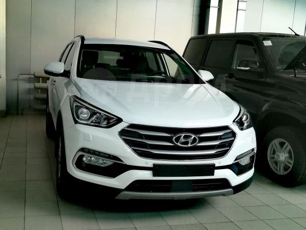 Hyundai Santa Fe, 2018 год, 2 504 500 руб.