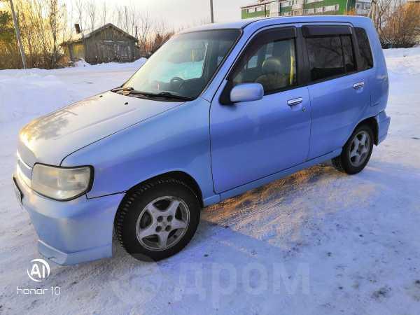 Nissan Cube, 2001 год, 128 000 руб.