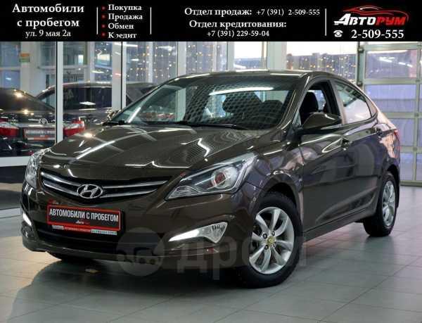Hyundai Solaris, 2014 год, 717 000 руб.