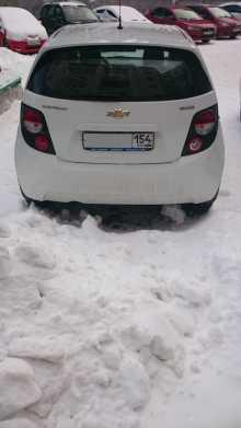 Chevrolet Aveo, 2014 г., Новосибирск