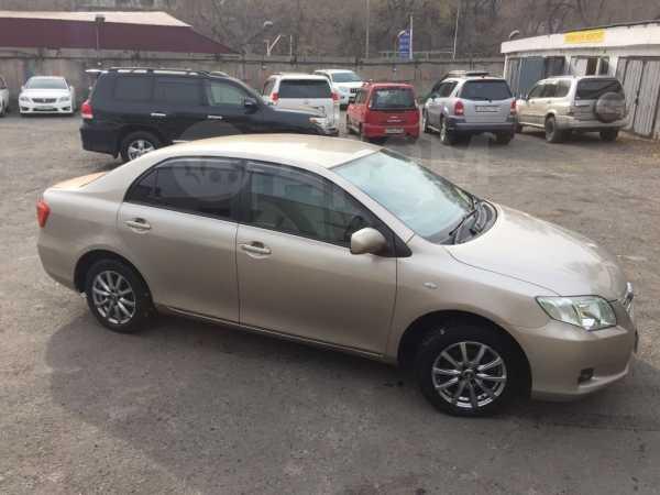 Toyota Corolla Axio, 2007 год, 420 000 руб.