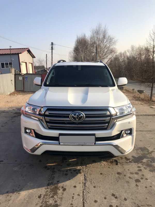 Toyota Land Cruiser, 2016 год, 4 800 000 руб.