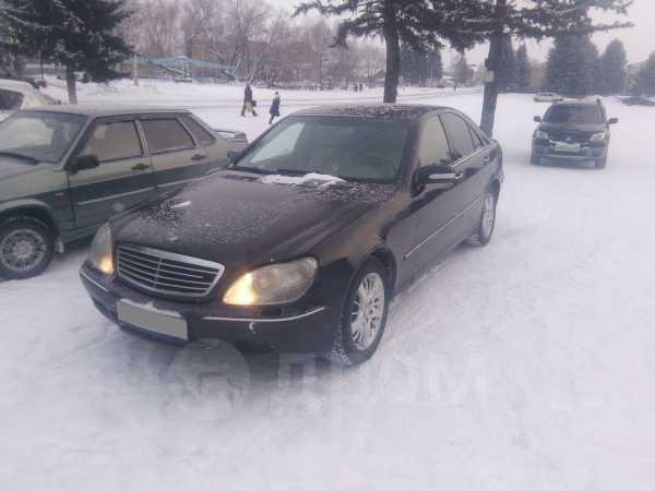 Mercedes-Benz S-Class, 2002 год, 315 000 руб.