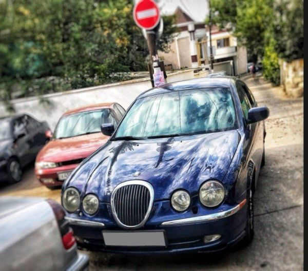 Jaguar S-type, 2001 год, 270 000 руб.