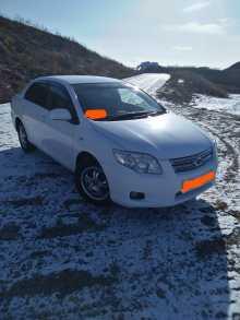 Владивосток Corolla Axio 2011