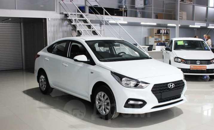 Hyundai Solaris, 2018 год, 858 000 руб.