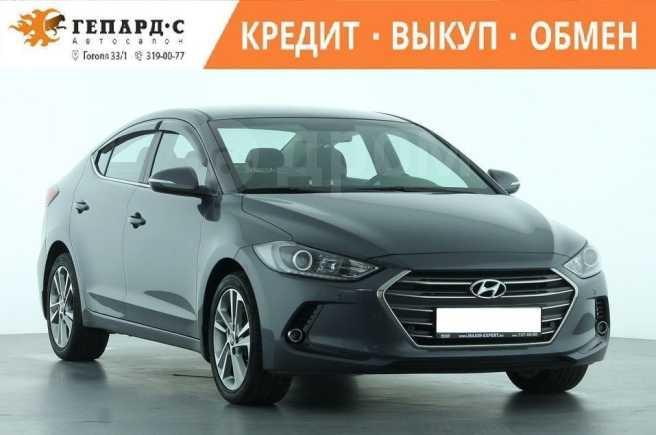 Hyundai Elantra, 2017 год, 770 000 руб.