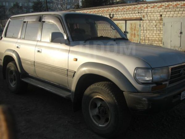 Toyota Land Cruiser, 1995 год, 500 000 руб.