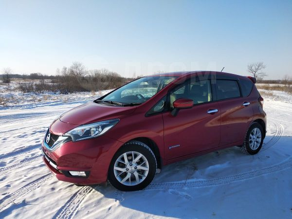 Nissan Note, 2017 год, 825 000 руб.