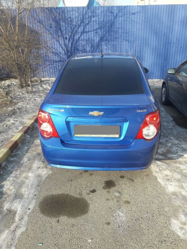 Chevrolet Aveo, 2014 год, 415 000 руб.